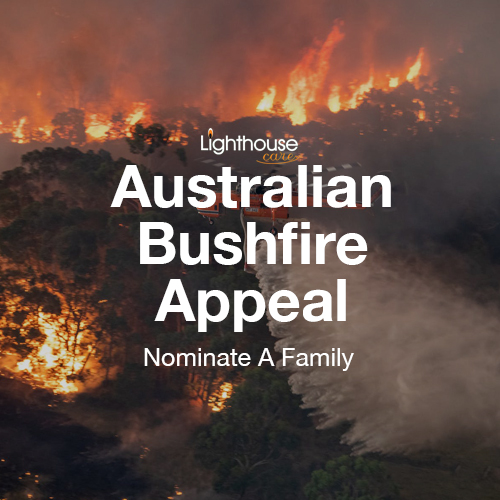 Bushfire Appeal Link Page Image